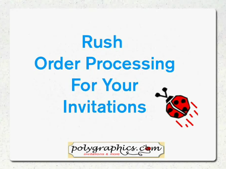 fast invitations, personalized invitations in a day